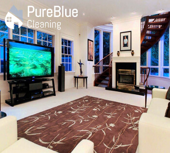 A house, which is deep cleaned by Pure Blue