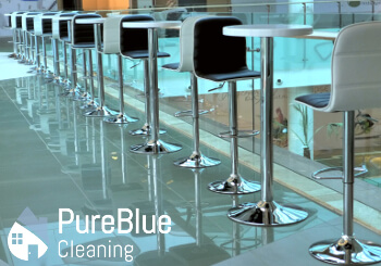 Sparkling clean commercial building in London